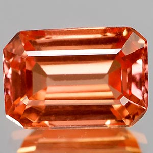 1.48 Ct. Clean Lab Created Padparadscha Songea Sapphire