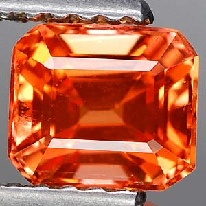 1.58 Ct. Clean Lab Created Padparadscha Songea Sapphire