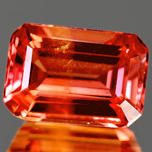 1.52 Ct. Clean Lab Created Padparadscha Sapphire Gem