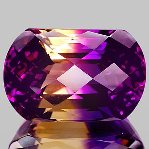 30.38 Ct. Beauty Clean Hydrothermal Bi Color Ametrine