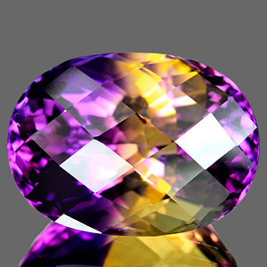 29.13 Ct. Clean Hydrothermal Bi Color Ametrine Brazil