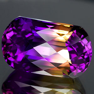26.54 Ct. Clean Hydrothermal Bi Color Ametrine Unheated