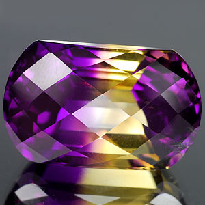 30.07 Ct. Hydrothermal Bi Color Ametrine Unheated Gem