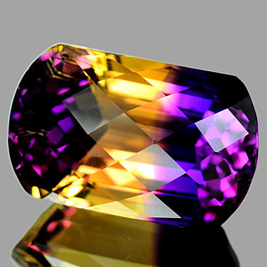 29.29 Ct. Hydrothermal Bi Color Ametrine Unheated Gem
