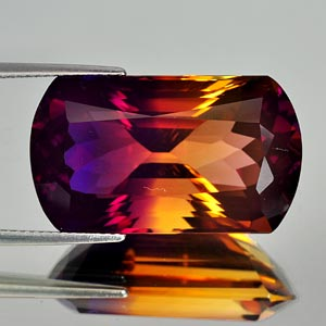 27.84 Ct. Clean Hydrothermal Bi Color Ametrine Bolivia
