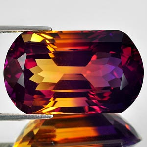 29.12 Ct. Clean Hydrothermal Bi Color Ametrine Bolivia
