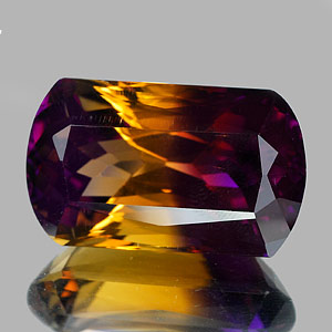 23.51 Ct. Clean Hydrothermal Bi Color Ametrine Bolivia