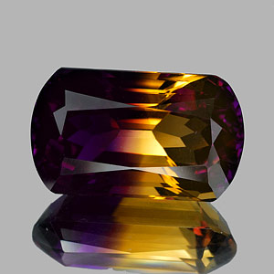 29.35 Ct. Clean Hydrothermal Bi Color Ametrine Bolivia