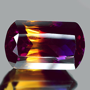 30.59 Ct. Clean Hydrothermal Bi Color Ametrine Bolivia