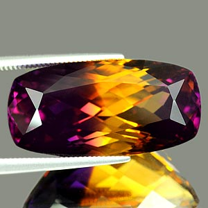 26.18 Ct. Clean Fancy Hydrothermal Bi Color Ametrine