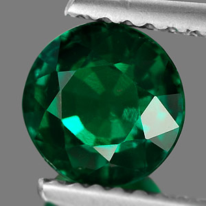 Unheated 1.00 Ct. Clean Green Emerald Created