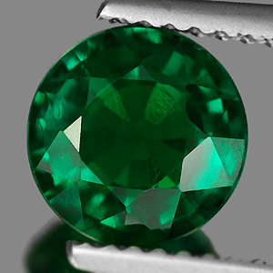Unheated 1.47 Ct. Clean Green Emerald Created