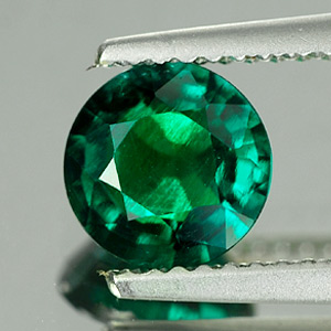 Unheated 1.08 Ct. VVS Green Emerald Created Russia