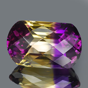 29.08 Ct. Clean Hydrothermal Bi Color Ametrine Unheated