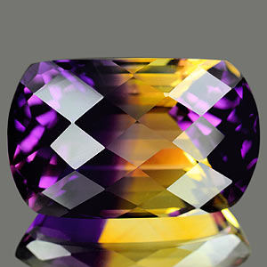 30.77 Ct. Clean Hydrothermal Bi Color Ametrine Bolivia