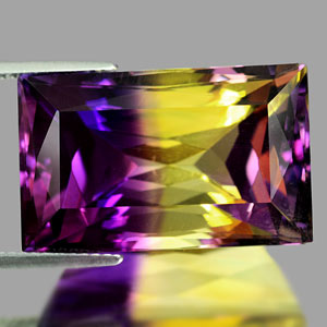 31.21 Ct. Clean Hydrothermal Bi Color Ametrine Unheated