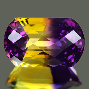 28.89 Ct. Clean Fancy Hydrothermal Bi Color Ametrine