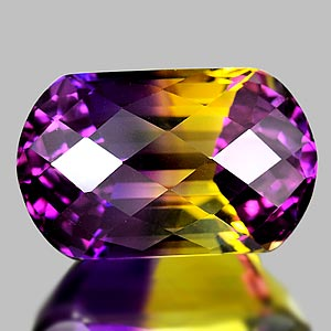30.10 Ct. Clean Fancy Hydrothermal Bi Color Ametrine