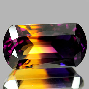 30.30 Ct. Clean Fancy Hydrothermal Bi Color Ametrine