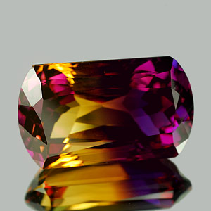 30.20 Ct. Clean Fancy Hydrothermal Bi Color Ametrine