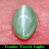 Unheated 0.85 Ct. Oval Cabochon Natural Gemstone Green Cats Eye Alexandrite