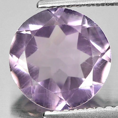 2.19 Ct. 9.1 Mm. Clean Natural Purple Amethyst Unheated
