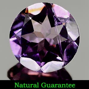 2.18 Ct. 9.1 Mm. Natural Purple Amethyst Unheated Gem
