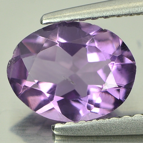 1.22 Ct. Oval Natural Purple Amethyst Unheated Brazil
