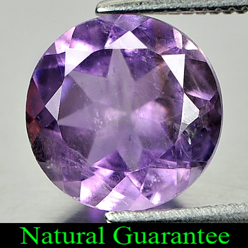 2.31 Ct. Natural Purple Amethyst Gemstone Round Shape From Brazil