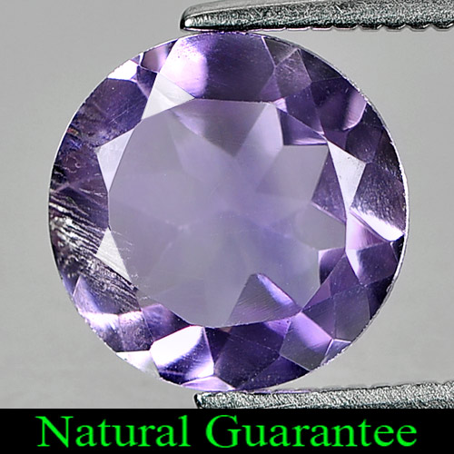 2.18 Ct. Natural Gem Purple Amethyst Round Shape From Brazil Unheated