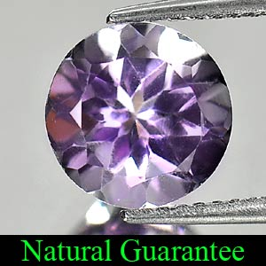 Unheated 2.31 Ct. Round Shape Natural Gem Purple Amethyst From Brazil