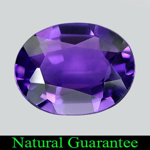 1.38 Ct. Clean Charming Oval Natural Gem Purple Amethyst Unheated