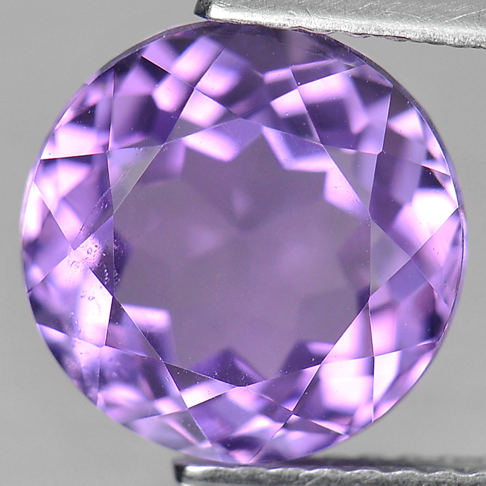 3.73 Ct. Round Shape Natural Gemstone Purple Amethyst From Brazil Unheated