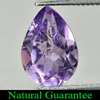 1.73 Ct. Pear Natural Purple Amethyst Unheated Brazil