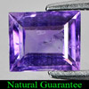 1.08 Ct. Square Natural Purple Amethyst Unheated Gem