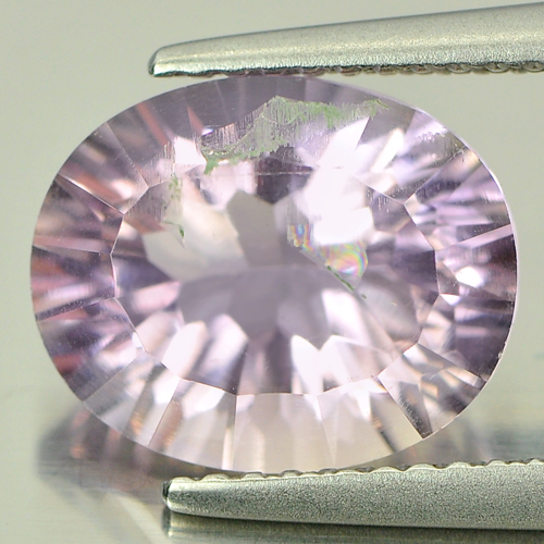 3.48 Ct. Oval Concave Cut Natural Gem Bi Color Ametrine