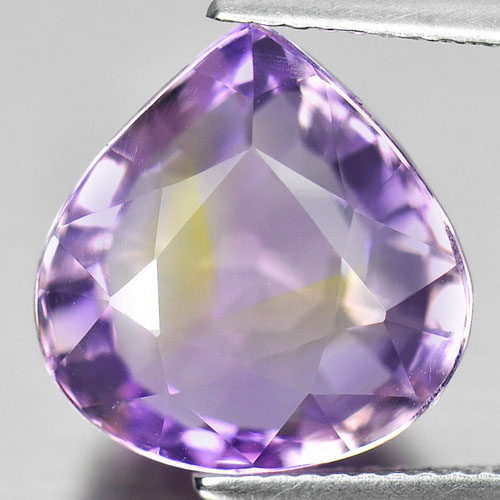 Unheated 9.06 Ct. Pear Shape Natural Gemstone Bi Color Ametrine From Bolivia