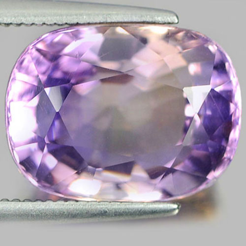 Unheated 7.41 Ct. Cushion Shape Natural Gemstone Bi Color Ametrine From Bolivia
