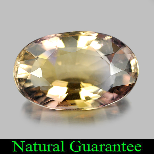 9.77 Ct. Attractive Oval Shape Natural Gem Bi Color Ametrine Unheated