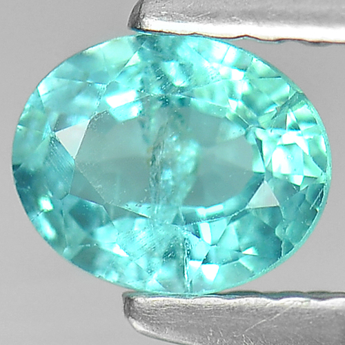 0.58 Ct. Pretty Natural PARAIBA Color APATITE Gem