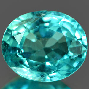 0.73 Ct. Impressive Natural Paraiba Color Apatite Gem