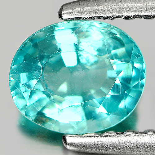 0.61 Ct. Captivating Natural Paraiba Color Apatite Gem