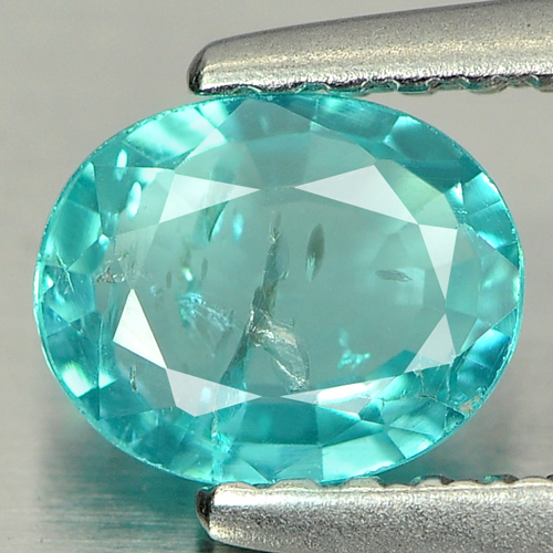 0.61 Ct. Attractive Natural Paraiba Color Apatite Gem
