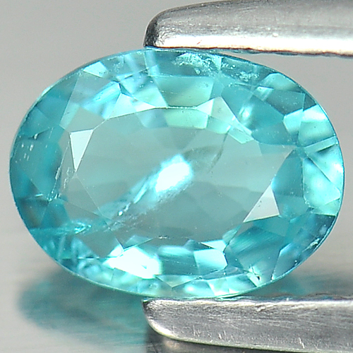 0.70 Ct. Magically Natural Oval PARAIBA Color APATITE