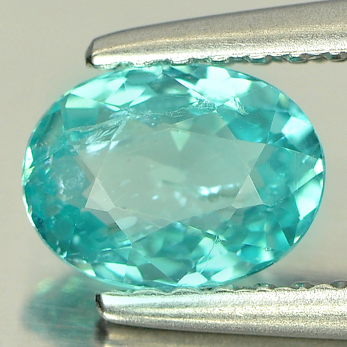 0.71 Ct. Oval Shape Natural Paraiba Color Apatite Gem