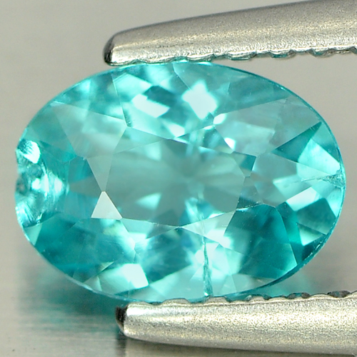 0.72 Ct. Calibrate Size Natural Paraiba Color Apatite