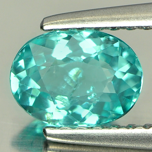 0.76 Ct. Oval Natural Paraiba Color Apatite Tanzania