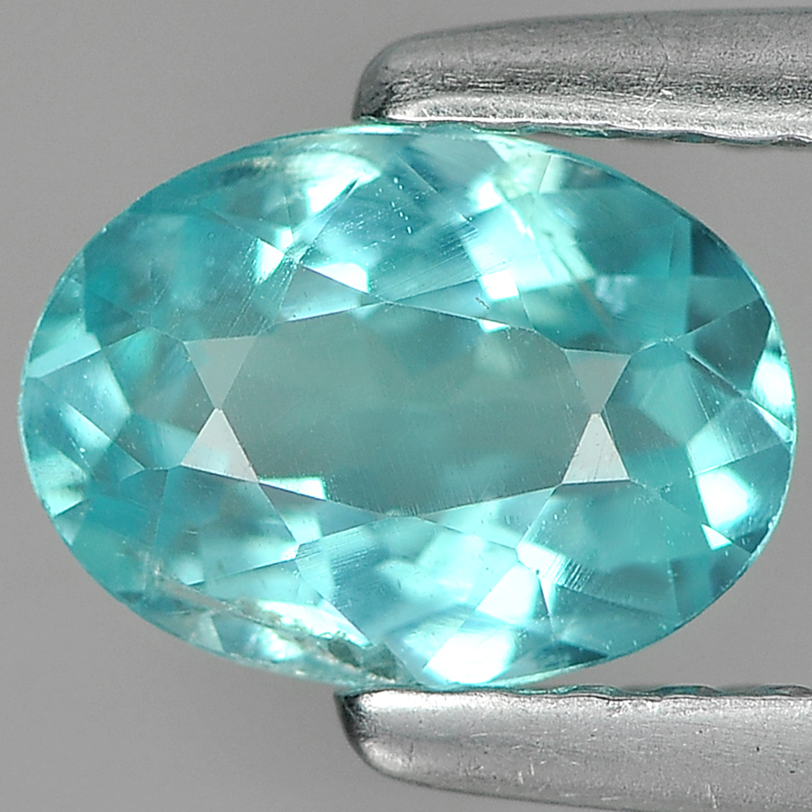 0.73 Ct Charming Natural Paraiba Color Apatite Unheated
