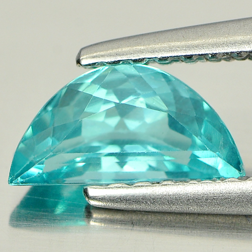 0.66 Ct. Fancy Natural Paraiba Color Apatite Unheated