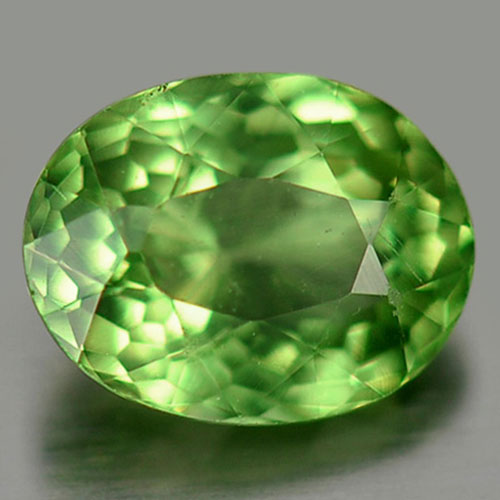 0.77 Ct. Attractive Gem Natural Green Apatite Oval Shape Unheated